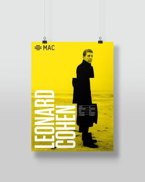 Affiche, exposition Leonard Cohen (12,99 $)