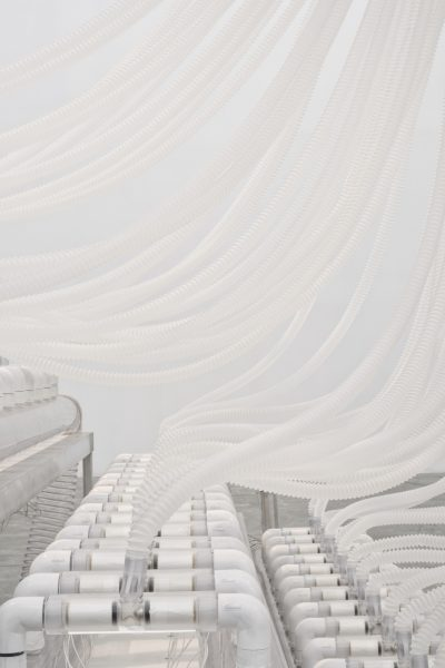 Rafael Lozano-Hemmer, Vicious Circular Breathing, 2013