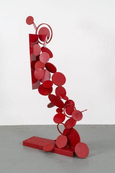 Françoise Sullivan, Chute en rouge, 1966