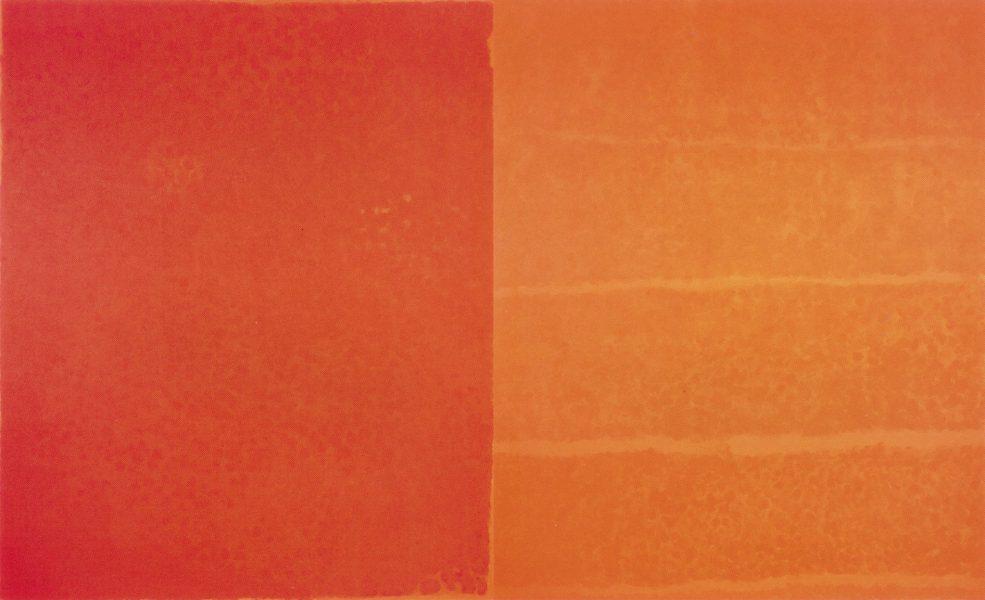 Françoise Sullivan, <i>Hommage à Paterson</i>, diptyque, 2003