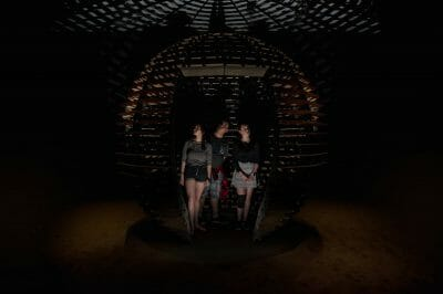 Rafael Lozano-Hemmer, Sphere Packing: Bach, 2018