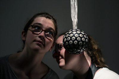 Rafael Lozano-Hemmer, Sphere Packing: Wagner, 2013