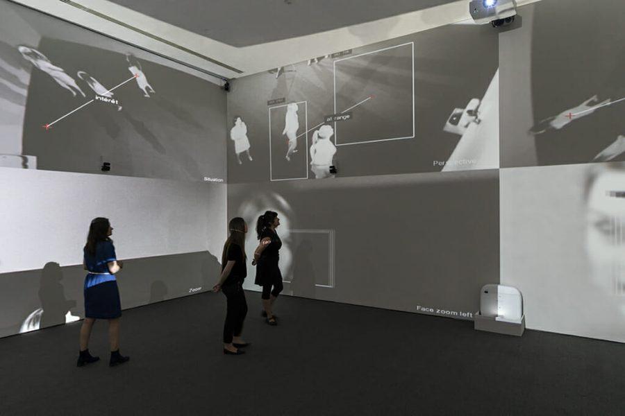 Rafael Lozano-Hemmer, <em>Zoom Pavilion</em> [Pavillon d'amplification], 2015