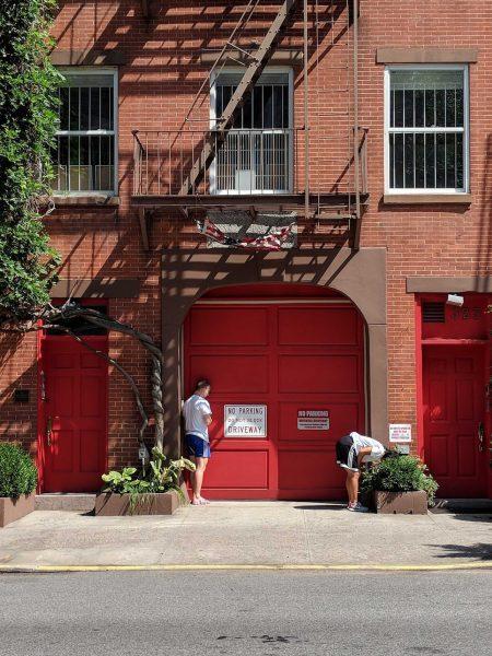 Vue extérieure du Studio Franziska Boas, 323 W. 21e rue, New York