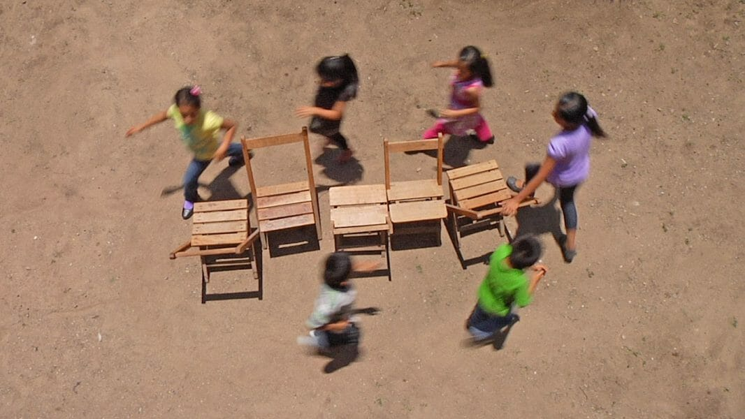 Francis Alÿs, <i>Children's Game 12 / Sillas</i> [Musical chairs], 2012