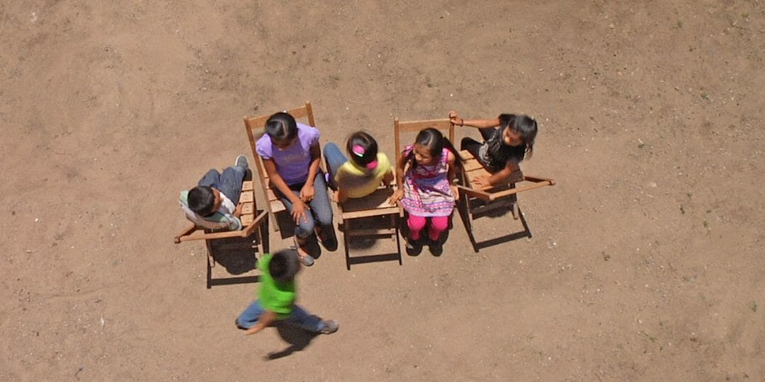 Francis Alÿs, Children's Game 12 / Sillas [Musical chairs], 2012