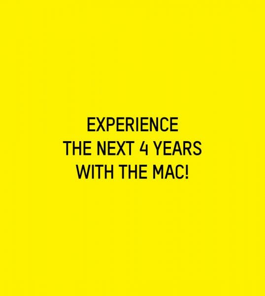 Experience the next 4 years with the MAC!