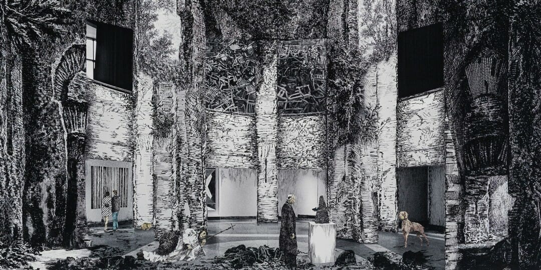 Gisele Amantea, Faux Site, Museum (after Piranesi), 2017