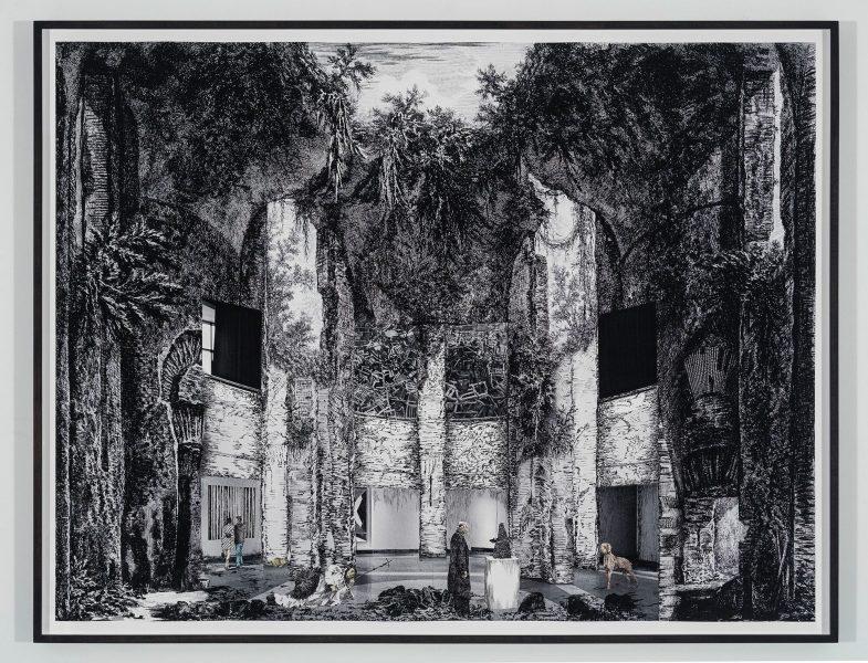 Gisele Amantea, Faux Site, Museum (after Piranesi), 2017