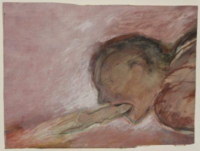 Betty Goodwin, Sans titre (Moving Toward Fire), 1985 G