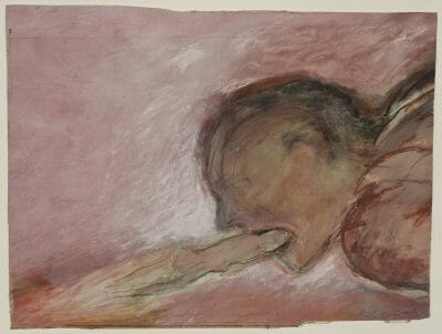 Betty Goodwin, Sans titre (Moving Toward Fire), 1985 G