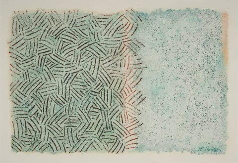 Robert Houle, Sans titre, 1981