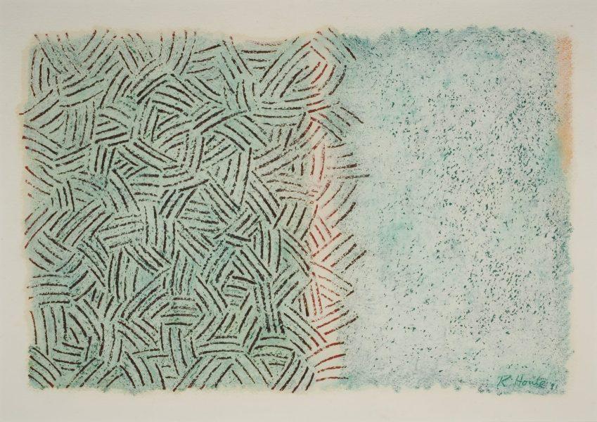 Robert Houle, <i>Sans titre</i>, 1981