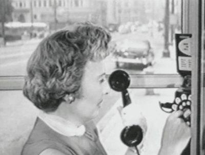 Christian Marclay, Telephones (arrêt sur image), 1995