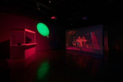 Edgar Arceneaux, Until, until, until... (vue d'installation), 2015-2017