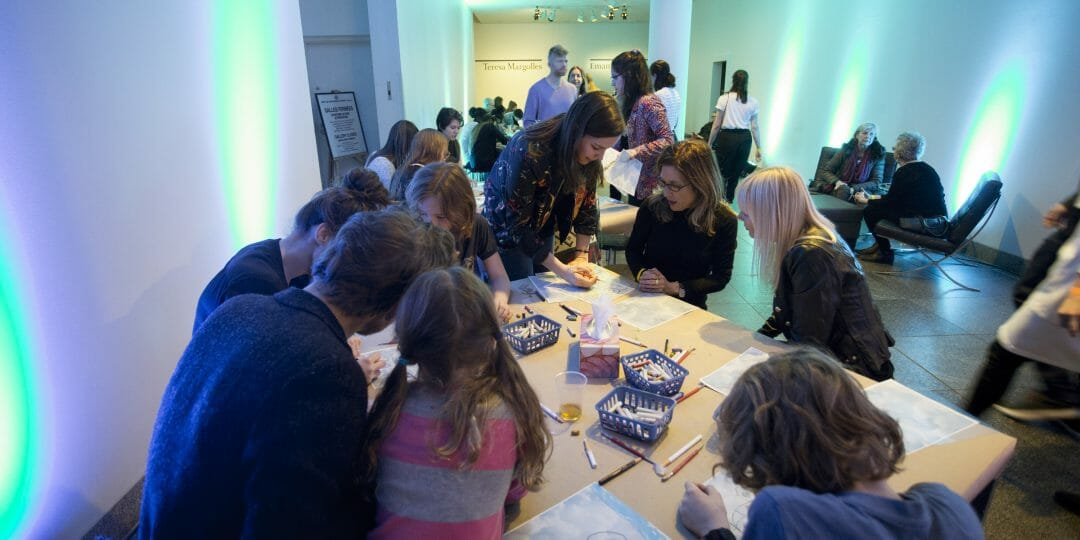 Nuit Blanche at the Mac: Arthur Jafa, the Collection and Art Workshop