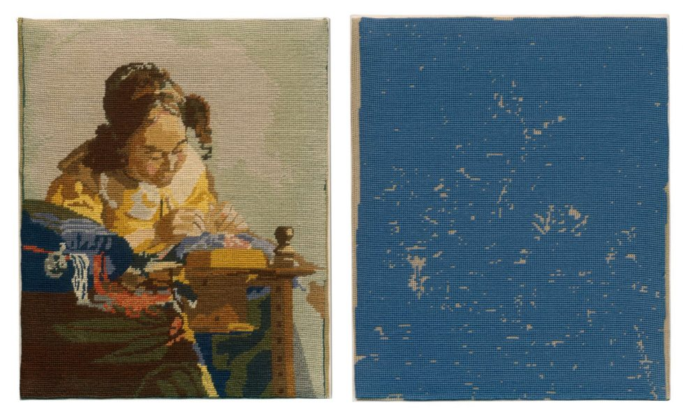 Rosika Desnoyers, After Jan Vermeer, The Lacemaker (v. 1669-1670), 2008