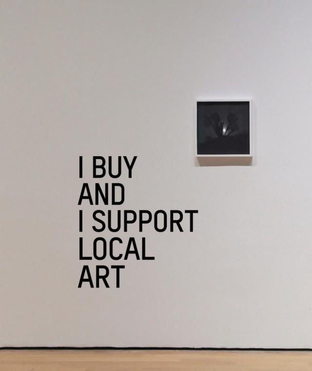 I buy & I support local art