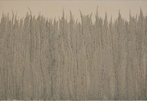 Marie-Claude Bouthillier, « mcb » les blés, 1999