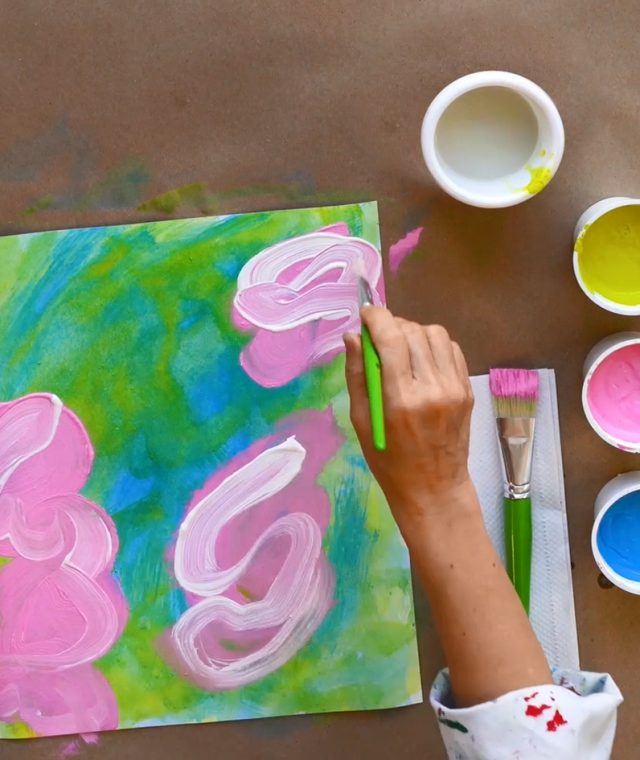 Creative encounter with an artwork: Manuel Mathieu