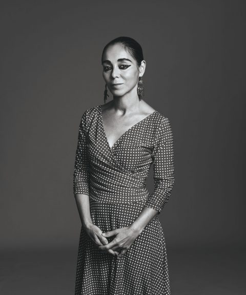 Portait of Shirin Neshat.