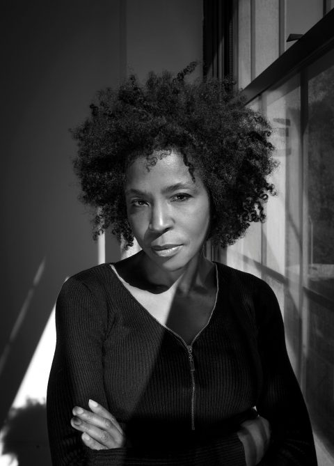Portait of Lorna Simpson.