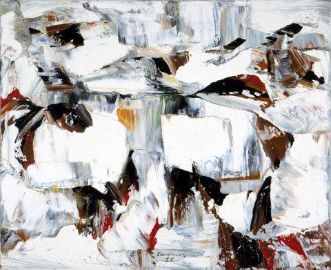 Translucidité, 1955, Paul-Émile Borduas, Huile sur toile.