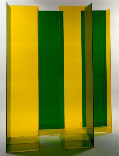 Configuration nº 7, 1967, Guido Molinari, Plexiglas.