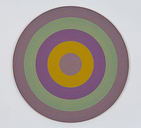 Gong 64, 1966, Acrylic on canvas.