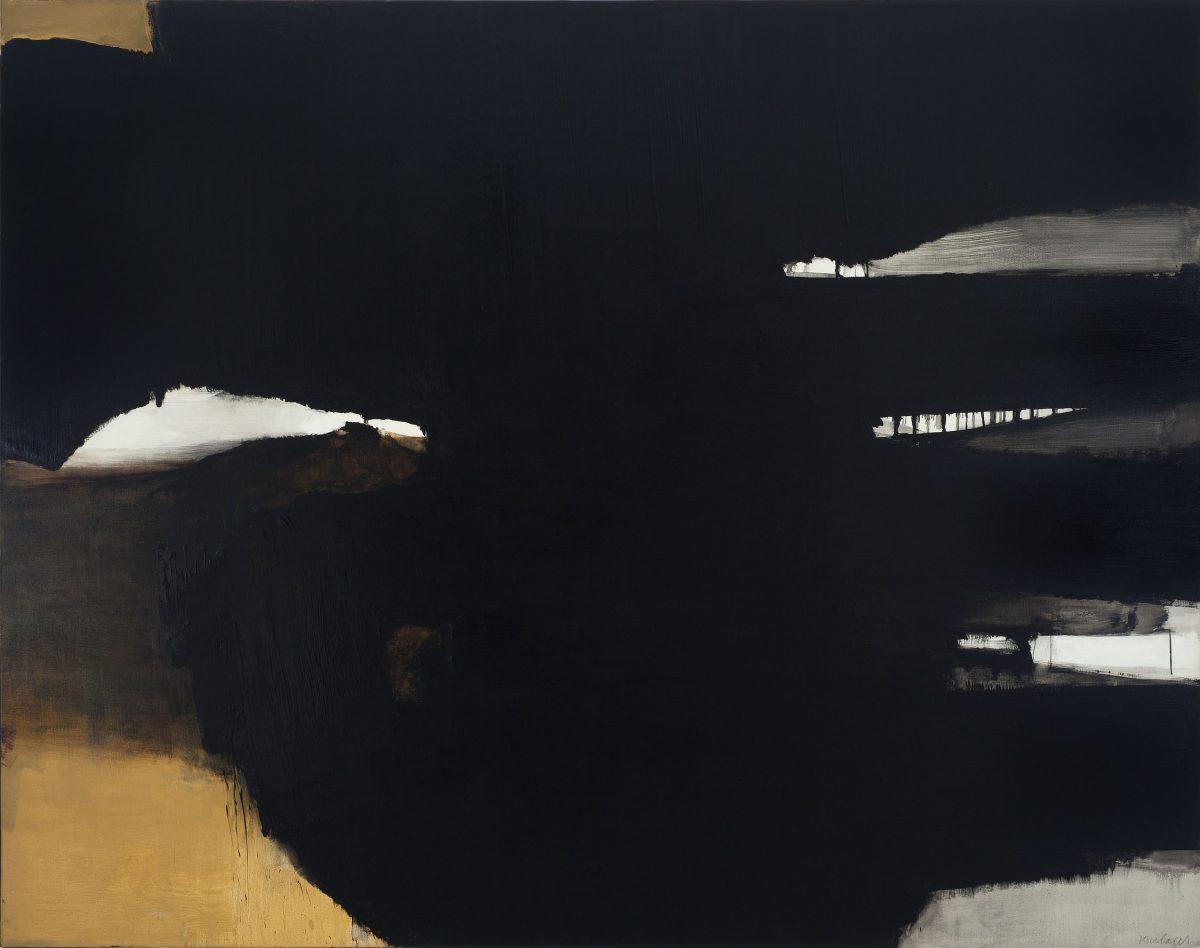 Peinture - 5 février 1964, 1964, Pierre Soulages, Huile sur toile.