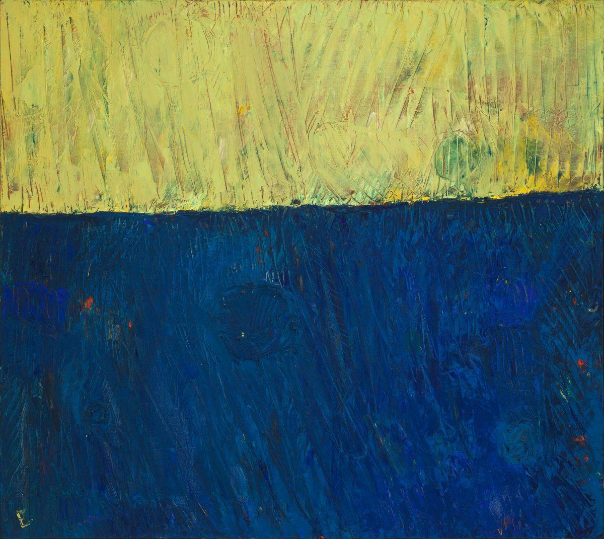 Sans titre, 1963, Paterson Ewen, Huile sur toile.
