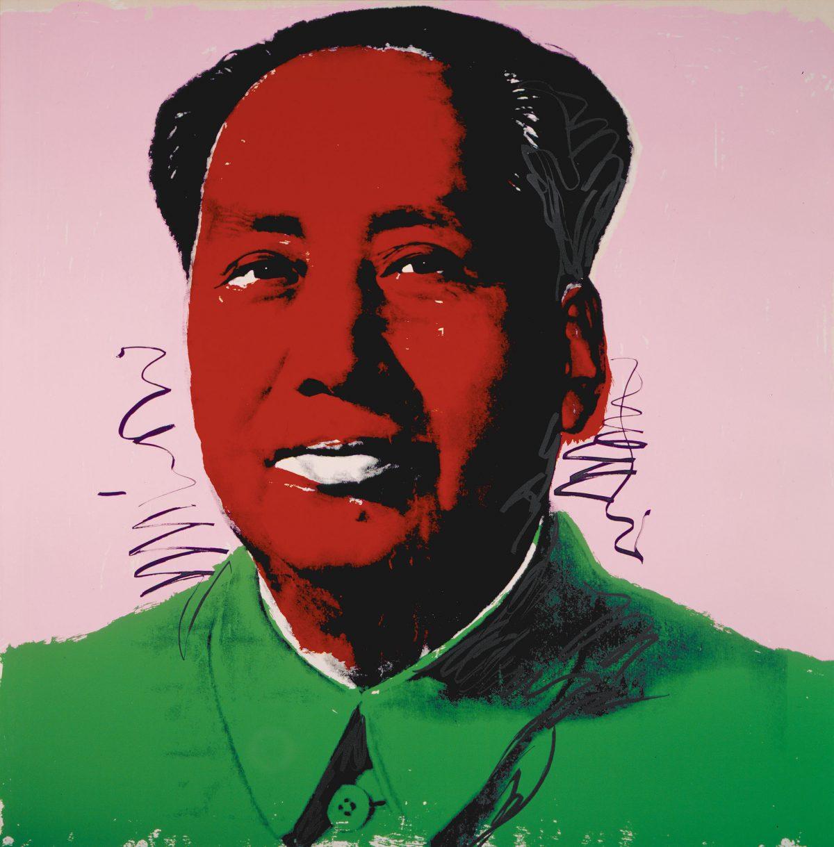 Mao Tsé-tung, 1972, Andy Warhol, 4 sérigraphies, 129/250 (2), 66/250 (2).