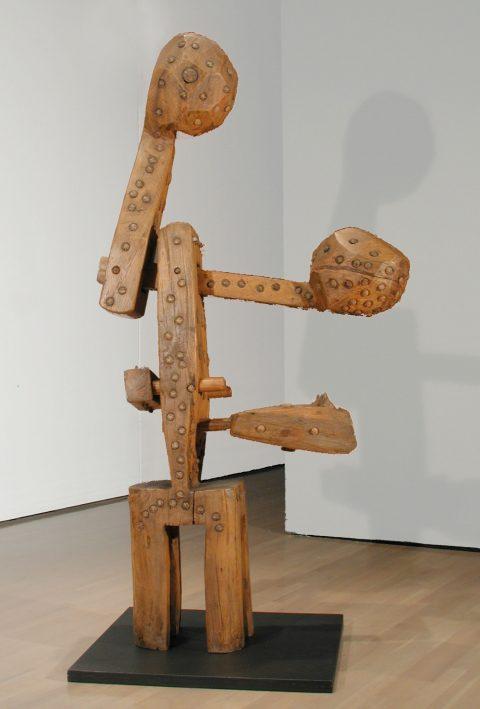 Bois de balancier, 1968, Robert Roussil, Chêne.