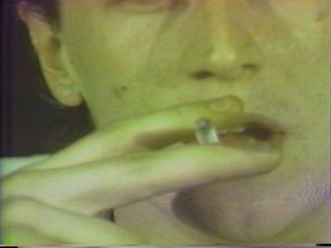 arrêt sur image de Système des beaux-arts, 1981, Daniel Dion et Philippe Poloni, Vidéogramme couleur, 9 min., son.