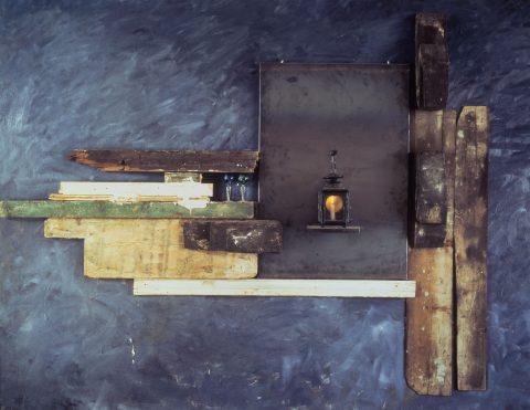 Sans titre, 1982, Jannis Kounellis, Matériaux divers et objets trouvés.