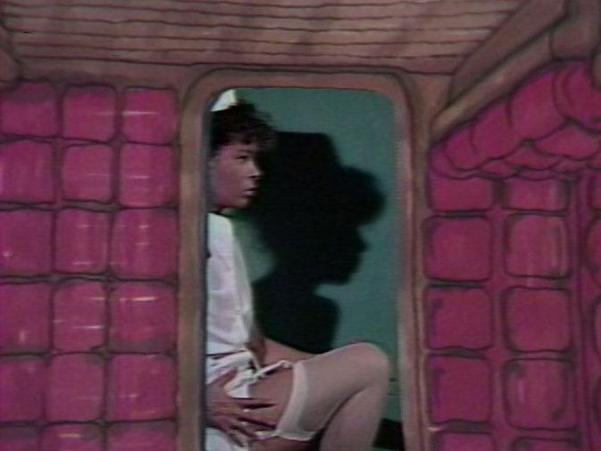 arrêt sur image de Sax Island, 1984, Hank Bull et Eric Metcalfe, Vidéogramme couleur, 11 min. 30 sec., son.