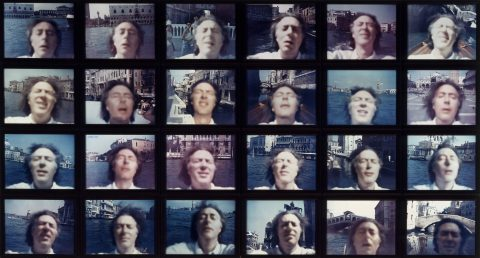 Venetian Blind, 1970 (tirage de 2002), Michael Snow, 24 épreuves à développement chromogène, édition de 3.