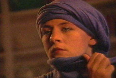 arrêt sur image de Madame Salomé, 1985, Ewa Turska, Vidéogramme couleur, 23 min., son.