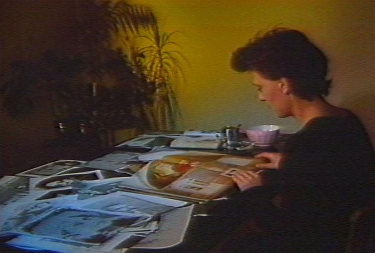 still of Madame Salomé, 1985, Colour video, sound, 23 min.