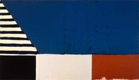 Sans titre (293), 1981, Acrylic on canvas.