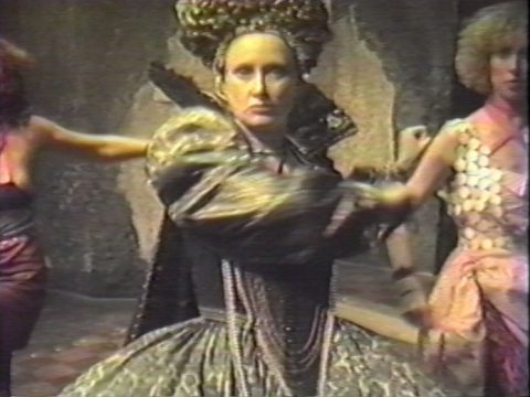 still of Pure Virtue, 1985, Colour video, sound, 15 min.