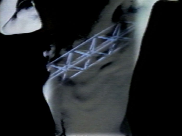 still of Kobold's Gesänge, 1986, Colour video, sound, 5 min 10 s.