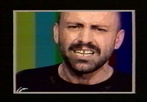 arrêt sur image de Shut The Fuck Up, 1985, General Idea, Vidéogramme couleur, 14 min., son.