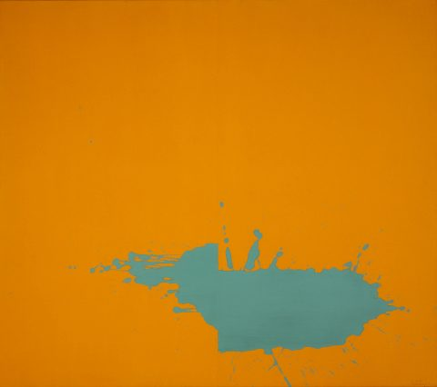 Géraldine, 1965, Acrylic on canvas.
