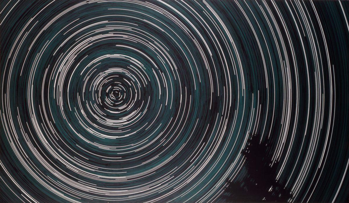 Sans titre, 1982, Jack Goldstein, Acrylique sur toile.