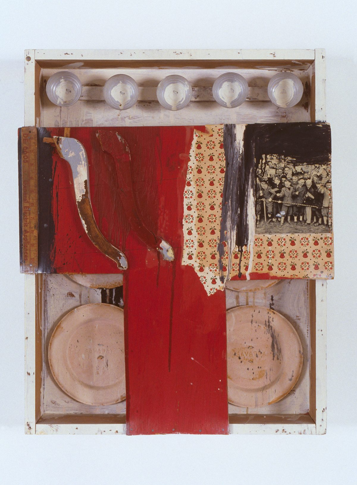 Box #4, 1962, Various materials collage.
