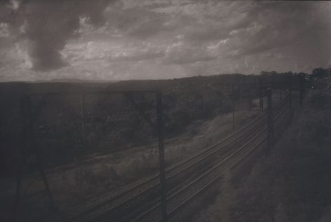 Chemin de fer, 1994, Angela Grauerholz, Épreuve à la gélatine argentique, 1/3.