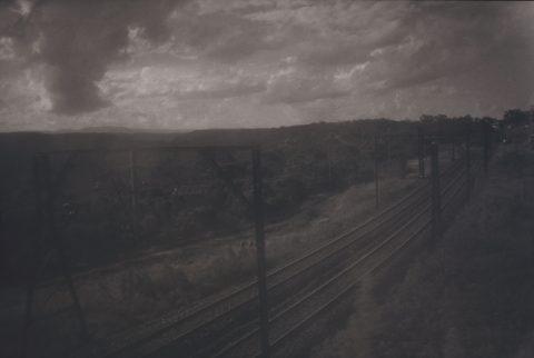 Chemin de fer, 1994, Gelatin silver print, 1/3.