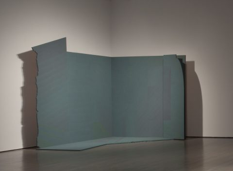 Ombre #4 « Maurice », 1983-1984, Acrylic on plywood.