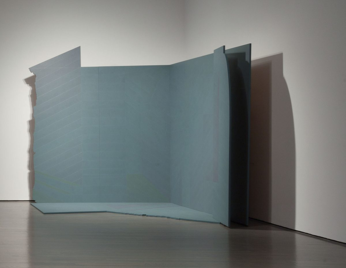 Ombre #4 «Maurice», 1983 - 1984, Christian Kiopini, Acrylique sur contreplaqué.